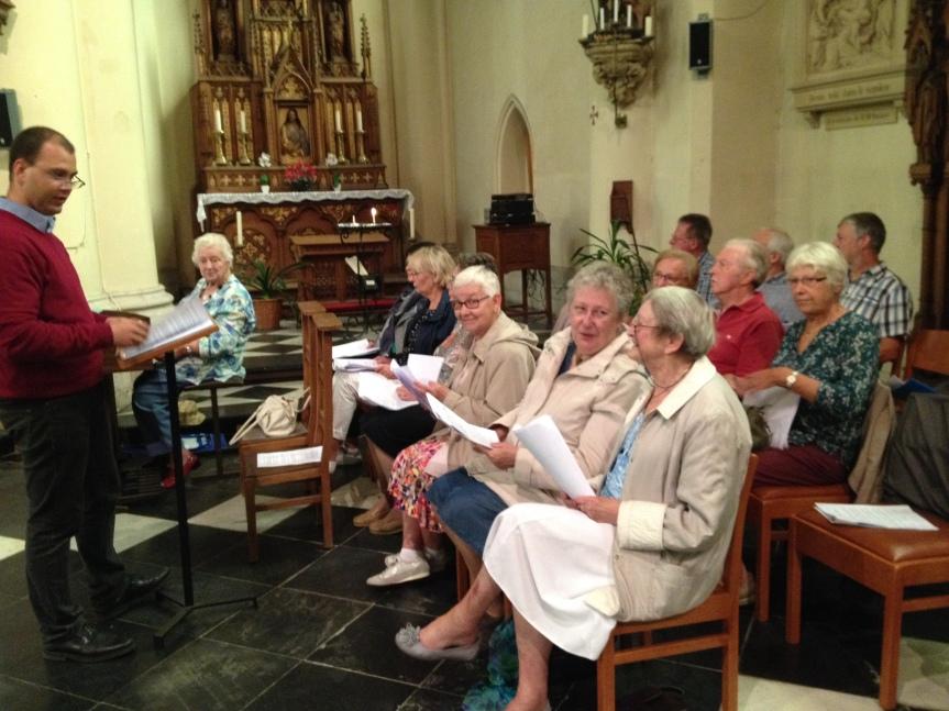 Messe de rentrée de l'UP le dimanche 30 septembre àHamme-Mille